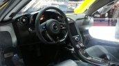 McLaren P1 Geneva Motor show live interior