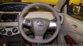 Toyota Etios Liva Facelift steering wheel