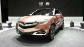 Acura SUV-X concept auto shanghai live 2013 front quarter left