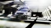 2014 Mercedes Sprinter Van moving