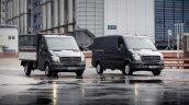 2014 Mercedes Sprinter range front