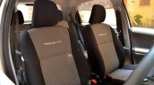 Front headrests on the Toyota Liva TRD Sportivo