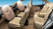 Honda Amaze cabin airbags out