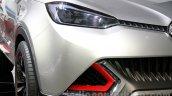 MG CS Concept Auto Shanghai 2013 front quarter headlamps