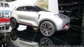 MG CS Concept Auto Shanghai 2013 front quarter right low angle