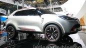 MG CS Concept Auto Shanghai 2013 side low angle