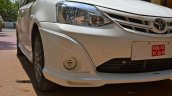No foglamps for Toyota Liva TRD Sportivo