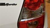 Rear tail lights redesigned on Toyota Etios Liva