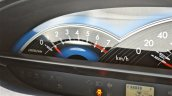 Rev counter of the refreshed Toyota Liva