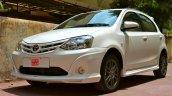 Toyota Etios Liva TRD Sportivo front bumper