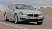 2014 BMW 5 Series front three quarters