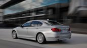 2014 BMW 5 Series rear three quarters