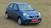 2013 Nissan Micra front three quarter