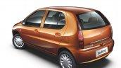 2013 Tata Indica eV2 rear three quarter view
