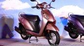 Beige Honda Activa-I