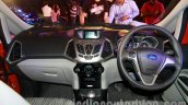 Ford EcoSport launched in India dashboard