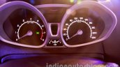 Ford EcoSport launched in India instrument cluster