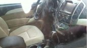 Great Wall Haval H9 spied interior