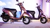 Honda Activa-I beige and purple