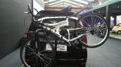 Tata Safari Storme Explorer Edition with cycle rear