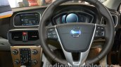 steering wheel of the Volvo V40 Cross Country