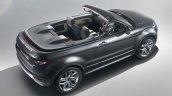 Range Rover Evoque convertible cabin