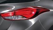 2014 Hyundai Elantra facelift taillight