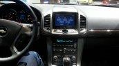 Chevrolet Captiva facelift multimedia screen