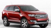 Ford Everest Concept front