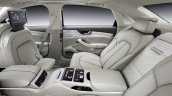 Rear seats of the 2014 Audi A8