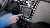 Renault Lodgy touchscreen infotainment system