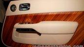 Rolls Royce Wraith launched in India door trim