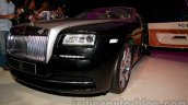 Rolls Royce Wraith launched in India front bumper