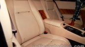 Rolls Royce Wraith launched in India rear seats