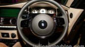 Rolls Royce Wraith launched in India steering wheel