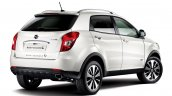 Ssangyong Korando C facelift rear three quarter
