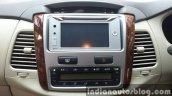 Toyota Innova facelift center console