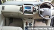 Toyota Innova facelift interiors