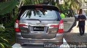 Toyota Innova facelift rear image