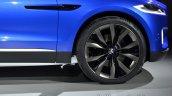 Front fender of the Jaguar CX-17 Concept
