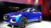 Front left three quarter of the Jaguar CX-17 Concept