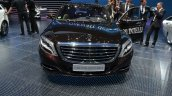 Front of the Mercedes S Class INTELLIGENT DRIVE