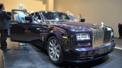 Front right three quarter of the Rolls Royce Phantom Celestial Edition