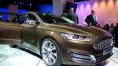 Front three quarter of the Ford Mondeo Vignale Concept sedan