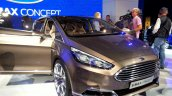 Front three quarter of the Ford S-Max Concept