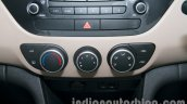 Hyundai Grand i10 AC controls
