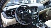 Interior of the 2014 Kia Optima