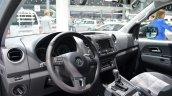Interior of the VW Amarok Dark Label
