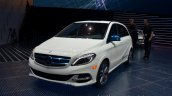 Mercedes B Class electric drive front three quarters
