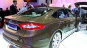 Rear right three quarter of the Ford Mondeo Vignale Concept sedan